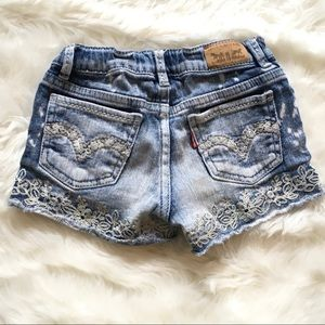 Little girls Levi's shorts shorts size 7 regular